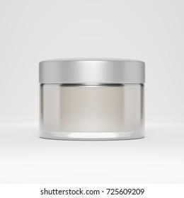 cosmetic jar - 3d illustration