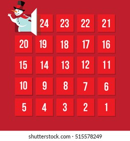 Countdown to Christmas Advent Calendar. Day 25.