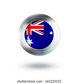 Country Banner, Button Design of Australia