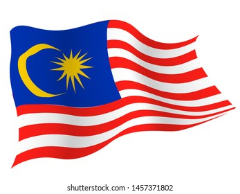 Country flag icon Malaysia japan