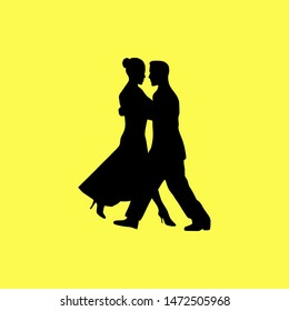 couple dancing in a party