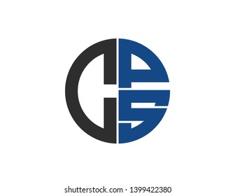 cps original monogram logo design