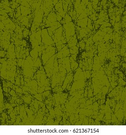 Cracked Digital Marble Texture Print in Green  Seamless Pattern in Repeat