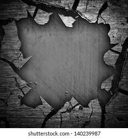 cracked iron