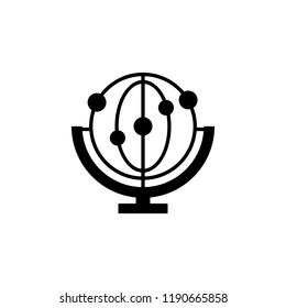 cradle, momentum icon. Element of genetics and bioengineering icon. Premium quality graphic design icon. Signs and symbols collection icon for websites, web design, mobile app