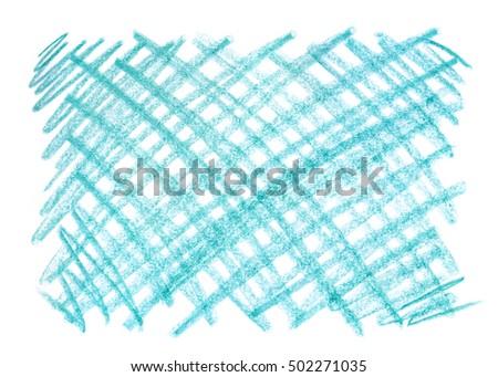 crayon scribble background blue pastel crayon stock illustration