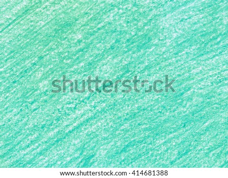 crayon scribble emerald background blue green stock illustration