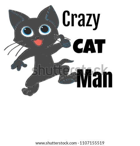 crazy cat man gifts for lovers or owners perfect valentines fathers day christmas or birthday - Christmas Names For Cats
