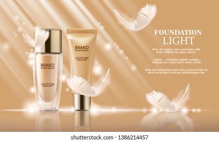 CREAM FOUNDATION LIGHT FOR FACE