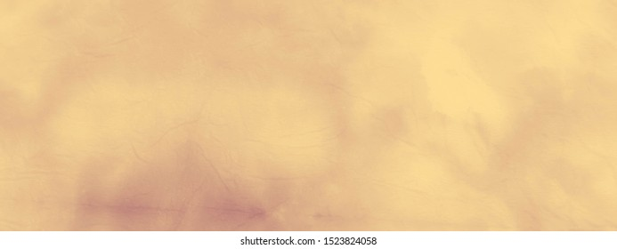 Cream tone shading abstract background. Satin luxury cloth texture. Pale yellow retro background. Hand painted marble backdrop. Mustard Color. Peach-yellow Lace. Vanilla cosmetic cream.