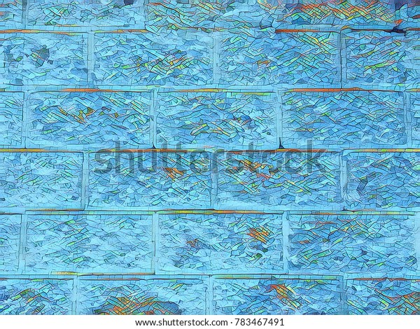 Creative abstract background pattern for poster design.Custom artistic wallpaper