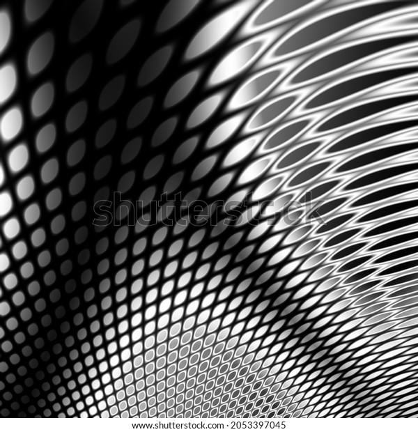 Creative abstract black texture art design