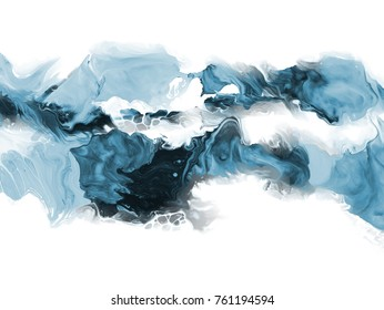 Creative abstract hand painted background, wallpaper, texture, close-up fragment of acrylic painting on canvas with brush strokes. Modern art. Contemporary art.