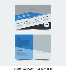 Creative Corporate Business Postcard Template