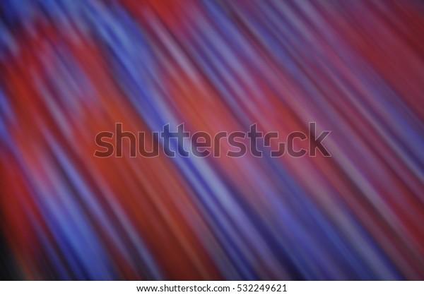 Creative Dark Blue Orange Striped Background Stock
