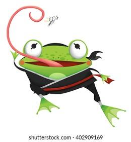 Ninja Frogs Images Stock Photos Vectors Shutterstock