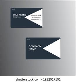 Creative Modern Ash Business Card Template