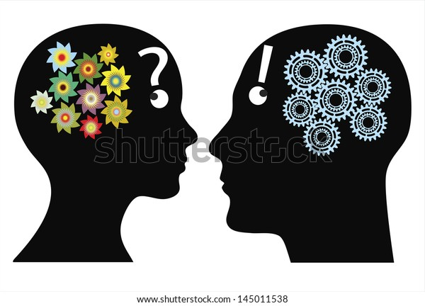 Creativity or rationality? Man and woman think in different ways, emotional versus logically