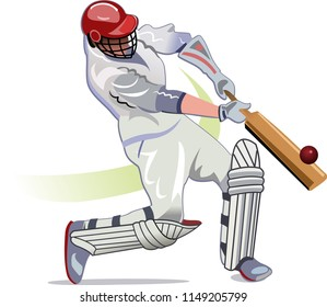 Cricket player batsman