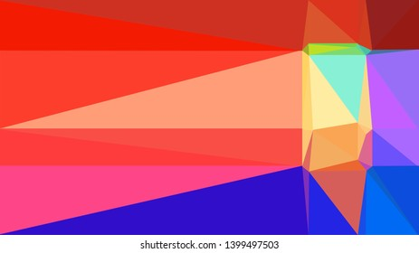crimson, medium blue and khaki color background with triangles. triangles style of different size and shape. simple geometric background for poster, cards, wallpaper or texture.
