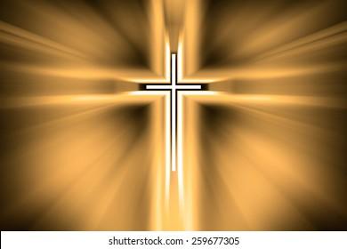 Cross Light, God is in the light