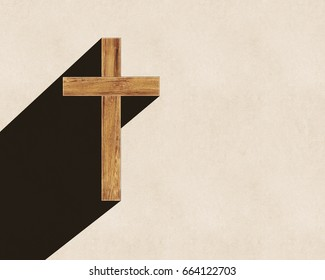 The cross long shadow background, worship background