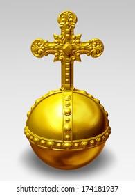 cross-bearing orb, Imperial orb, Globe cruciger