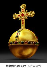 cross-bearing orb, Imperial orb, Globus cruciger