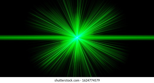 crossing green neon shining lines 260nw 1624774579