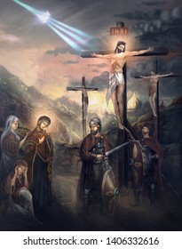 crucifiction of Jesus Christ son of God