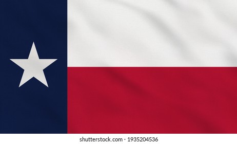 Crumpled Fabric Flag of Texas USA Intro. Texas Flag. USA. American flag. North America Flags. Celebration. Flag Day. Patriots. Realistic Animation 4K. Surface Texture. Background Fabric.