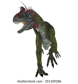 Cryolophosaurus Dinosaur Aggression - Cryolophosaurus was a theropod dinosaur that lived in Antarctica during the Jurassic Period.