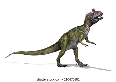 The Cryolophosaurus was a dinosaur that lived during the Early Jurassic period.