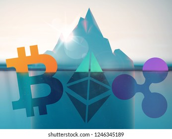 Cryptocurrency Have Hit the Bottom, bitcoin, ethereum and ripple under the water. Prices Drop to Low Record under 4000 usd
