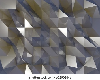 Crystal Brown and Blue