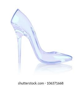 crystal high heel