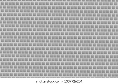 Cubic honeycomb gray abstruct background 4k 3d