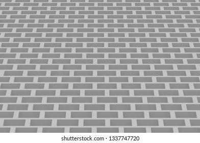 Cubic orthogonal gray abstruct background 4k 3d
