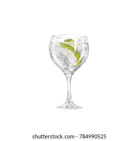 cup of gin tonic