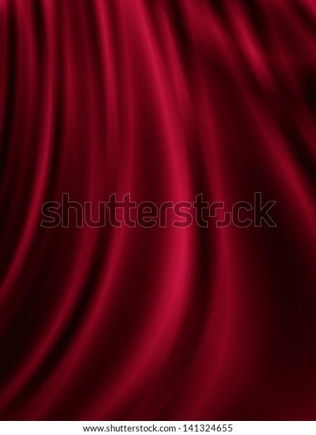 curtain-background-red-silk-nice-600w-14