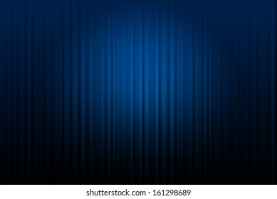 Curtain blue  background
