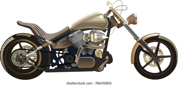 Custom Motorbike and  freedom