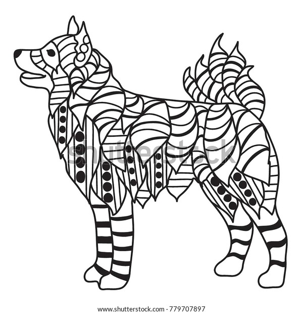Husky Coloring Pages - Best Coloring Pages For Kids | 620x600