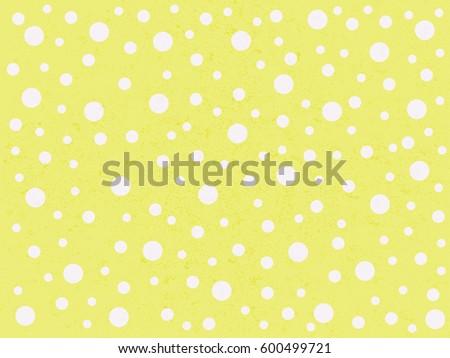 635df9bf2a8 Cute Bright Yellow Polka Dot Textured Stock Illustration - Royalty ...