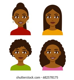 African American Woman Avatar Images Stock Photos Vectors