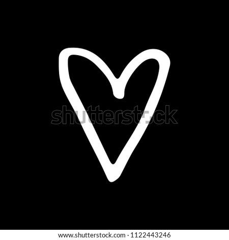 Royalty Free Stock Illustration Of Cute Cartoon Hand Drawn Heart