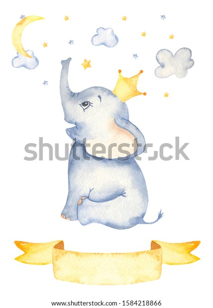 Cute Cartoon Sitting Baby Elephant Prince Stock Illustration 1584218866 Download baby elephant images and photos. https www shutterstock com image illustration cute cartoon sitting baby elephant prince 1584218866