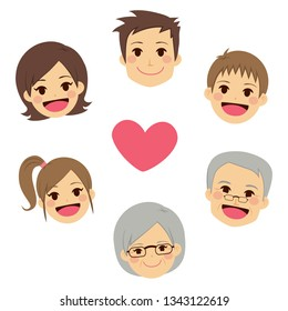Family Member Cartoon Images Stock Photos Vectors Shutterstock