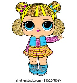 Cute LOL Baby Dolls character
