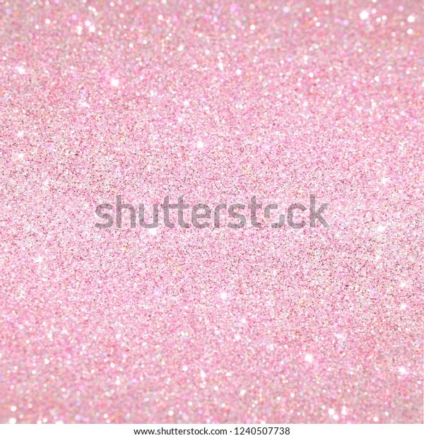 Cute Pink Baby Girl Pattern Shiny Stock Illustration 1240507738